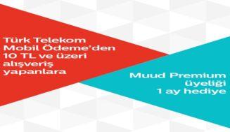 Türk Telekom Mobil Ödeme'den Muud Premium Üyelik Hediye Dağıtıyor!